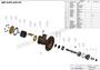 JMP #JPR-G6010F EXPLODED VIEW PARTS DIAGRAM
