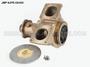 JMP #JPR-G6400 JMP DETROIT DIESEL REPLACEMENT RAW WATER ENGINE COOLING PUMP *Internal View of Flexible Impeller