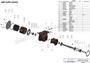 JMP #JPR-G6400 EXPLODED VIEW PARTS DIAGRAM
