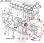 JMP #JPR-G6400 EXPLODED VIEW INSTALLATION LOCATION DIAGRAM