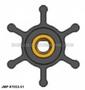 JMP FLEXIBLE IMPELLER #7053-02 (Illustrated Impeller Image)