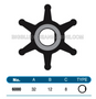 JMP FLEXIBLE IMPELLER #6000-01 (SPECS)