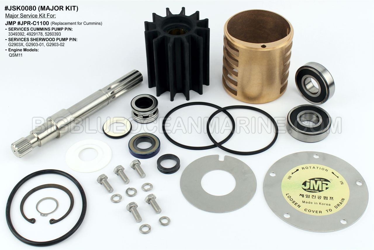 Hydraulic Boom Cylinder Seal Kit 0844807 for John Deere Excavator JD 50C ZTS