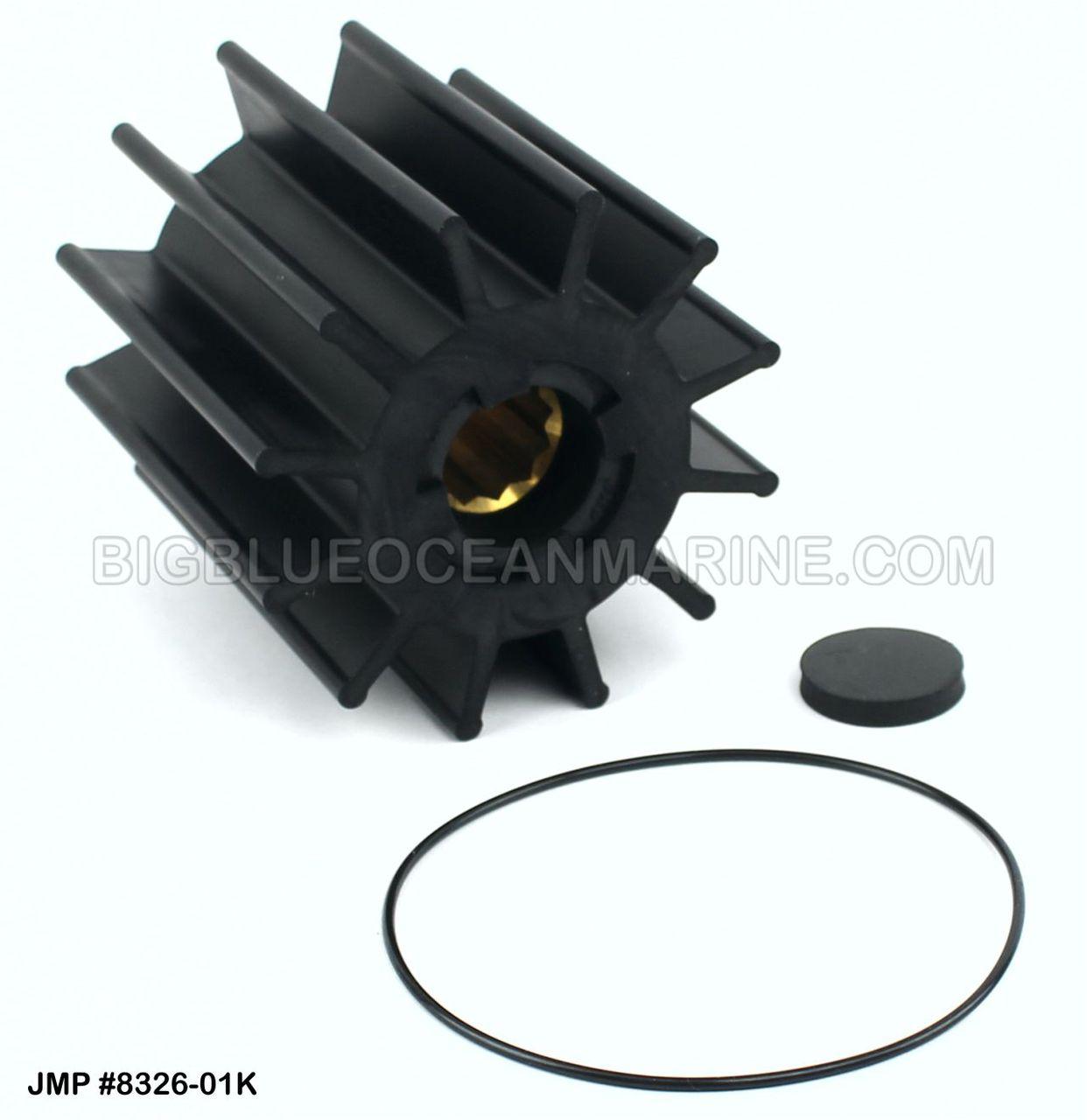 17938-0001-P Volvo Penta AQ impeller to replace 3830459