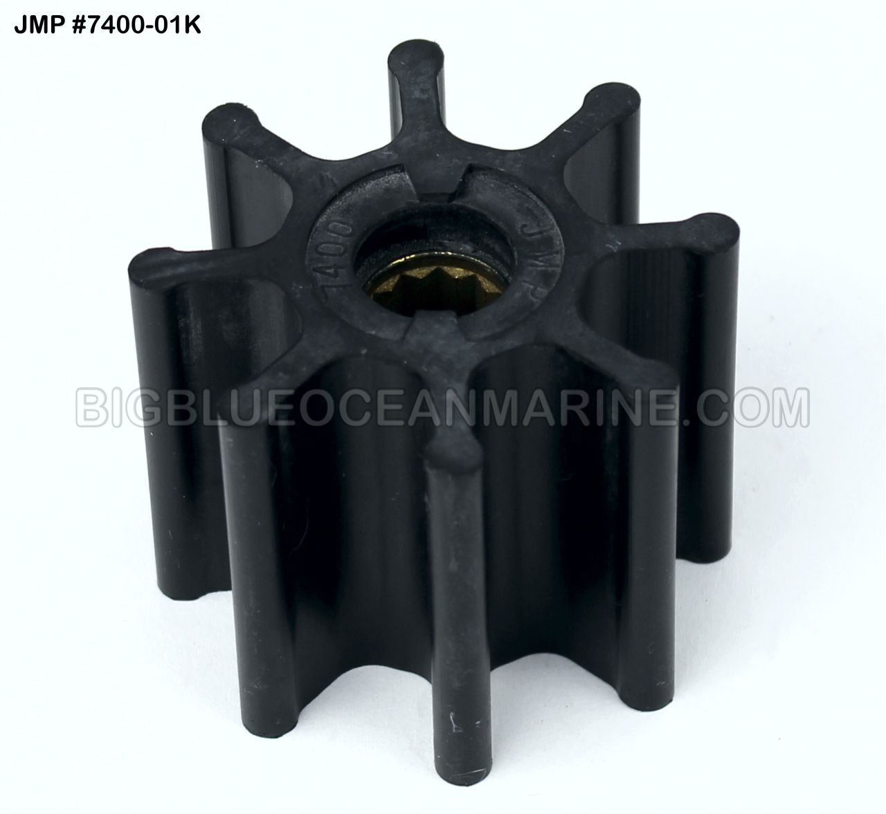 Sea Water Pump Impeller Kit for Sherwood Outboard Replacement 18200K /& 18200
