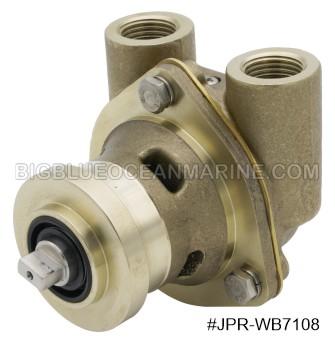 #JPR-WB7108 JMP Marine Westerbeke Replacement Engine Cooling Seawater Pump. Westerbeke 42175, Sherwood G908, G903