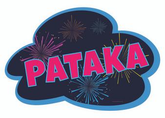 Pataka Indian Prop Sign