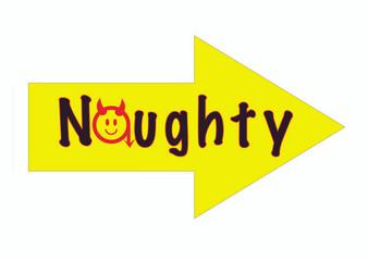 Naughty Sign