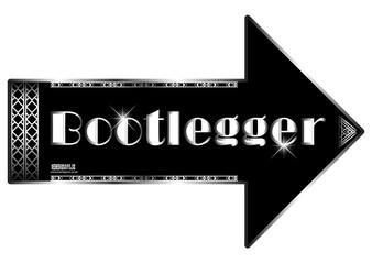 Bootlegger Gatsby sign