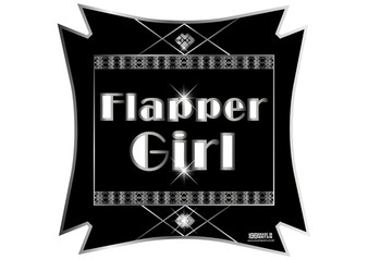 Flapper Girl Gatsby Sign