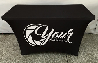 4ft Spandex Lycra Fitted Table Cover