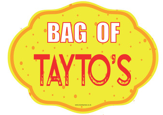 Bag Of Tayto's