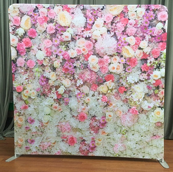 Floral Backdrop Double Sided