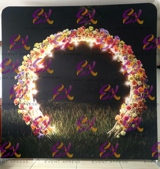 Floral Arch Backdrop
