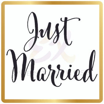 Just Married Prop Sign
