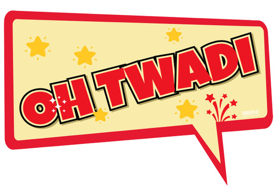 Oh Twadi Indian Prop Sign