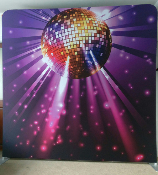 Disco Backdrop Double Sided