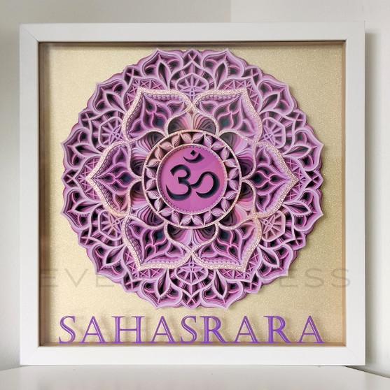 Sahasrara Crown Chakra Frame
