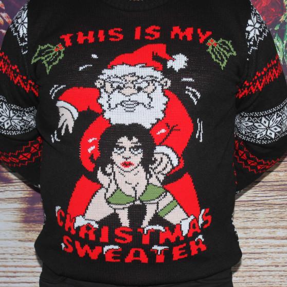 Naughty Christmas Jumper - Sweater