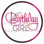 Birthday Girl Prop Sign