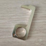 Non-Contact Hand Hygiene Antimicrobial Brass EDC Door Opener Elevator Handle Key