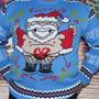 Naughty Christmas Jumper - Naked Santa