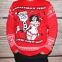 Naughty Christmas Jumper - Valium & Wine