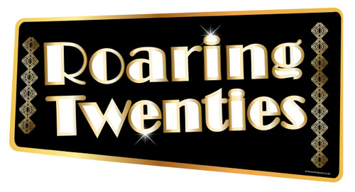 Roaring 20s Gatsby Prop Sign Eventxpress Uk Ltd