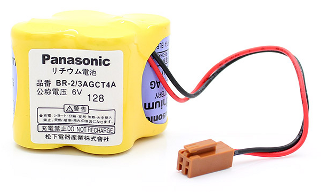 Panasonic BR-2/3AGCT4A CNC - PLC Battery for Robot Controller