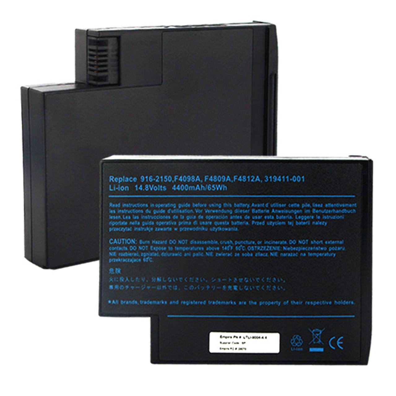 cb8e9584bb3e HP Compaq DB946A Laptop Battery Replacement 4400mAh