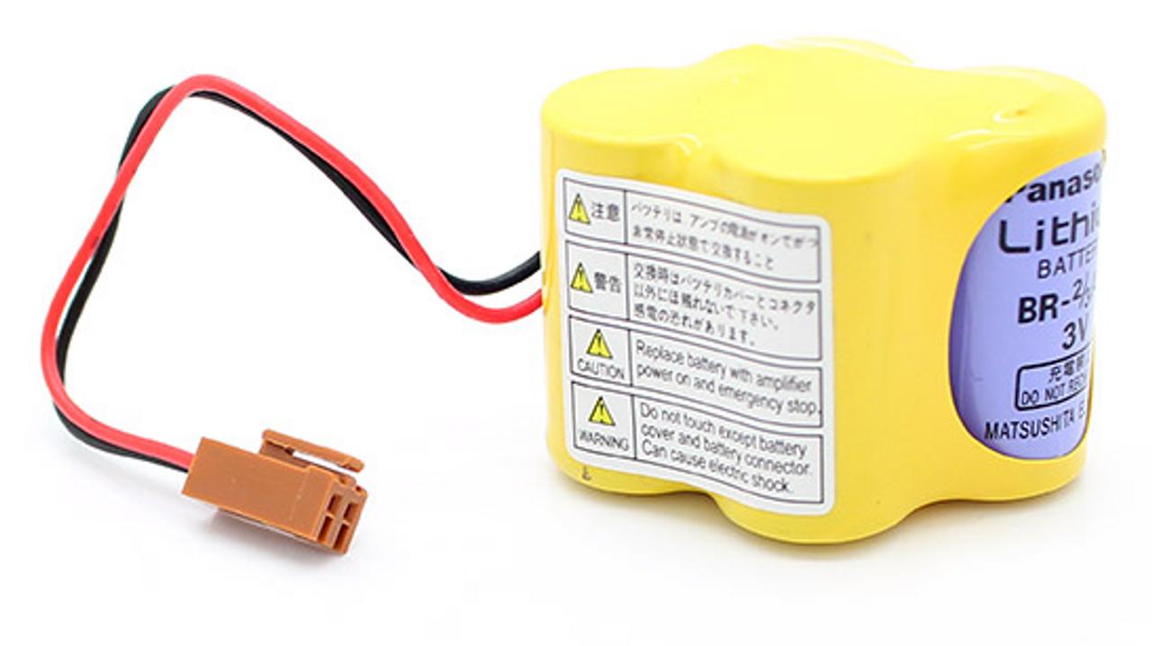 GE Fanuc A98L-0031-0025 PLC Battery for Robot Controller