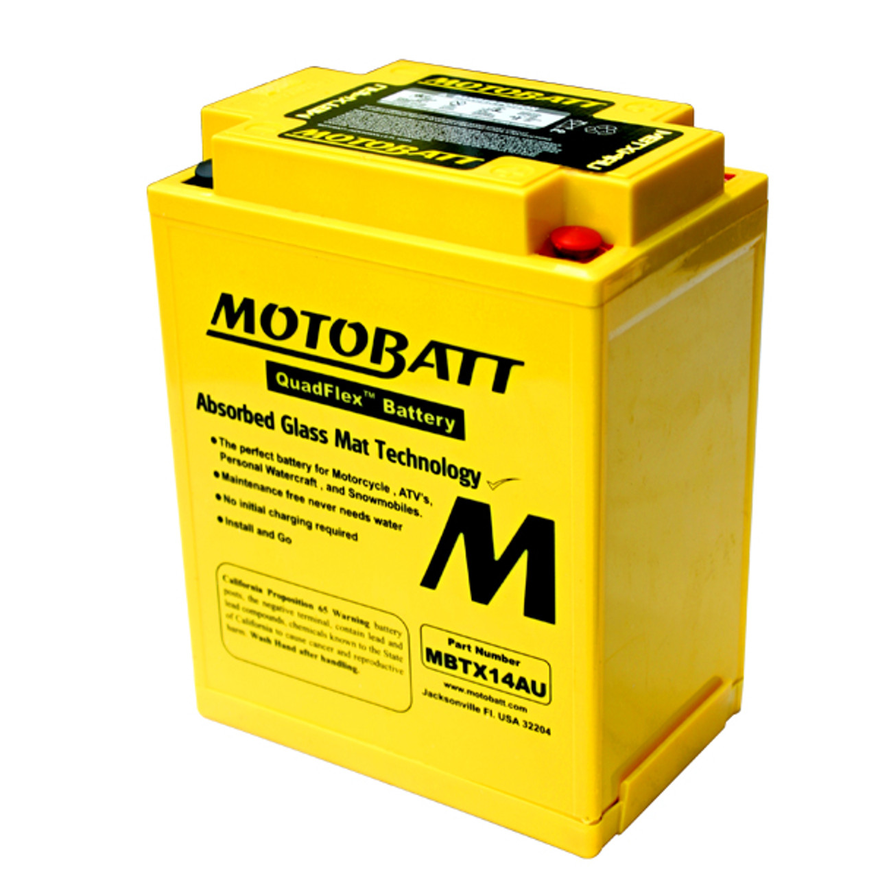 Yuasa 12n14 3a Battery Replacement Agm Sealed For Motorcycle