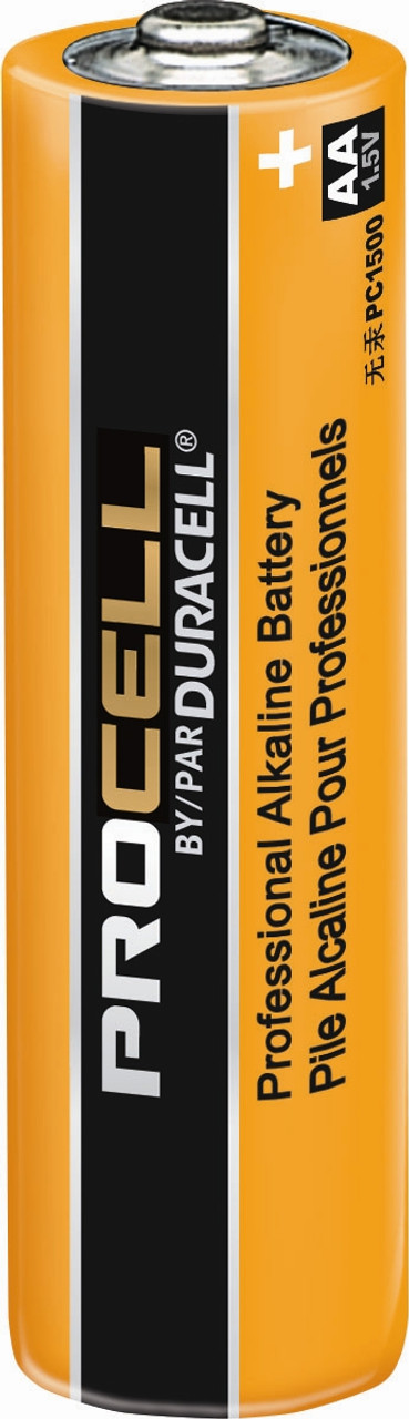 Duracell Procell AA Batteries - PC1500 Industrial (144 Case)