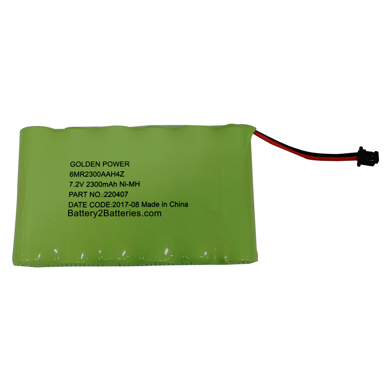6MR2300AAH4Z Golden Power Battery Replacement