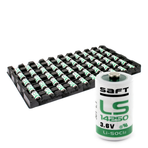 Saft LS14250 Battery - 3.6V Lithium 1/2 AA Cell Li-SOCI2