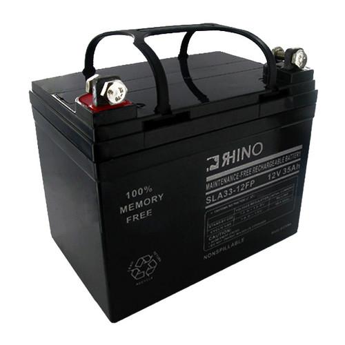 12 Volt 35.0 Ah Battery - Rhino SLA33-12FP Sealed Lead Acid Rechargeable
