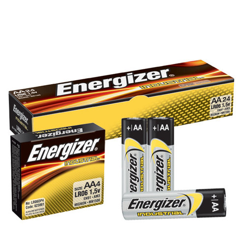 Energizer Industrial EN91 AA Alkaline Battery (Case of 144)
