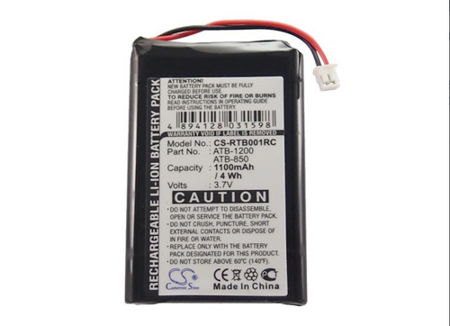 RTI ATB-1200 Battery Replacement for Remote Control