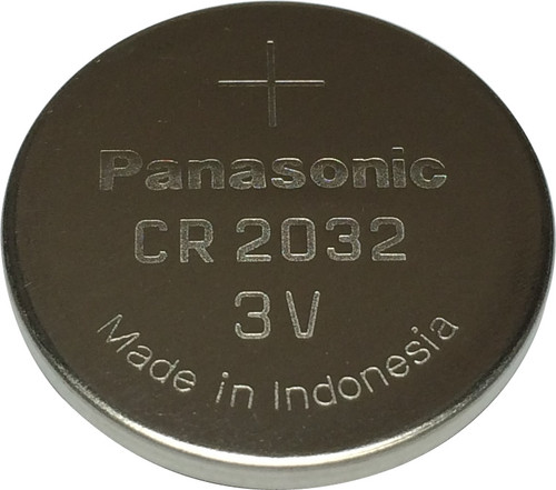Panasonic CR2032 Battery (20 Pieces) 3V Lithium Coin Cell