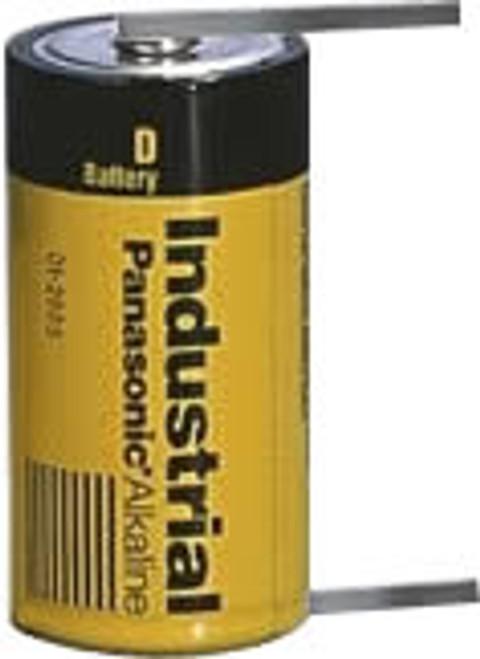 Modicon 60-0286-000 Battery-1.5 Volt D Cell Alkaline w/Solder Tabs (12 Pack)