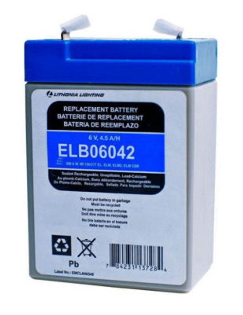 Lithonia ELB06042 Battery