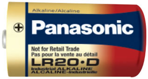 Panasonic Industrial AM1 D Cell Battery - 1.5 Volt Alkaline