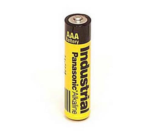 Panasonic Industrial AM4 AAA Cell Battery - 1.5 Volt Alkaline