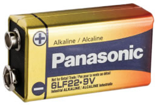 Panasonic Industrial 6AM6 9 Volt Battery - 9V Alkaline