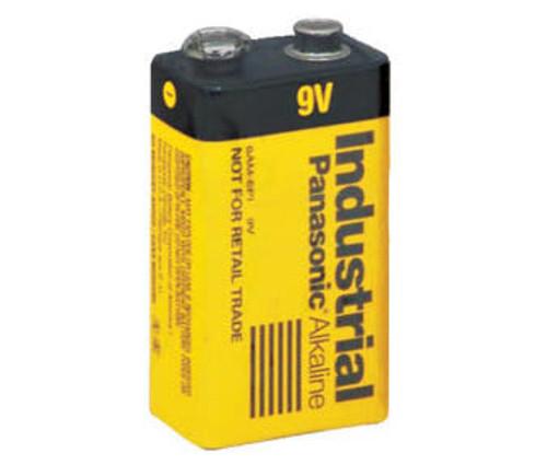 Panasonic Industrial 6AM6 9 Volt Battery - 9V Alkaline