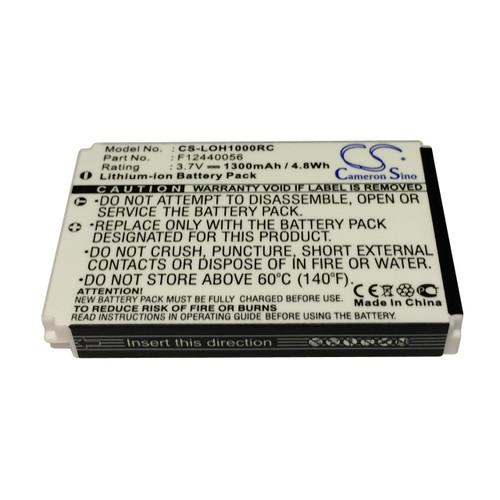 Logitech Harmony Sqeezebox Duet Remote Control Battery