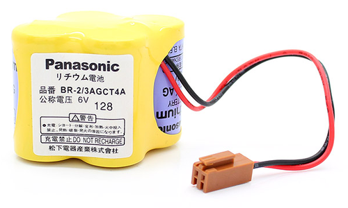 Fanuc BR-2/3AGCT4A Battery - 6V Lithium PLC Battery