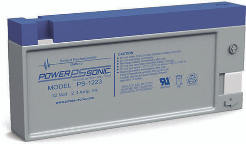 Power-Sonic PS-1223 Battery - 12 Volt 2.3 Amp Hour