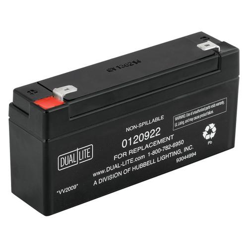 Dual-Lite 0120922 - 12-922 Battery