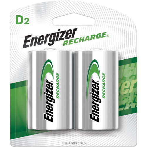 Energizer D Cell NiMH Rechargeable Batteries (6 Packs of 2) NH50BP-2